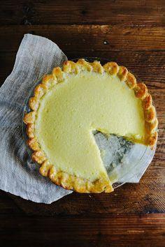 // Meyer Lemon Chess Pie
