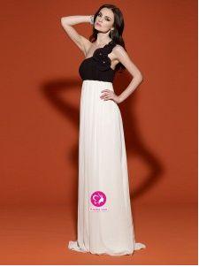 Bersun 2014 Winter Dress Multi Colours Sheath Chiffon Floor-Length One  Shoulder Sexy Formal Dress Nude Dress robe de soiree 6404dee84801