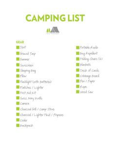 Camping Checklist - Why Take an iPhone Camping? * Find out more at the image link. #CampingChecklist