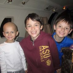 These beautiful boys are growing up without their baby brother. So wrong. F u cancer.   The Ronan Thompson Foundation