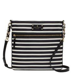 kate spade | fabric purses - nylon stripe ellen - StyleSays