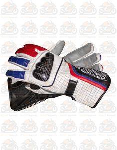 Motorbike Gloves Bikers first choice Repsol Honda Motorbike Glove Racing Moto GP Large