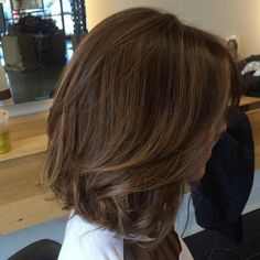 Beautiful Hair Cuts And Colors To Make Boyfriends Feel Instantly - Dazhimen Medium Hair Cuts, Short Hair Cuts, Medium Hair Styles, Curly Hair Styles, Haircut Medium, Pinterest Hair, Great Hair, Hair Highlights, Hair Day