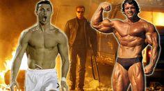 Cristiano Ronaldo y sus músculos impresionaron a 'Terminator'. #Depor