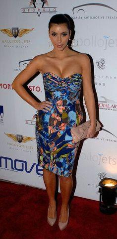 Straple print dress