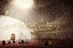 Mosque design by OODA and AND-RÉ with AFA CONSULT / Rui Furtado as the engineering partner