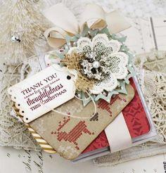 Christmas Thank You Tag
