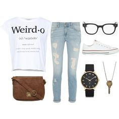 """""""Nerd-Chique"""" by blissinnirvana on Polyvore"""