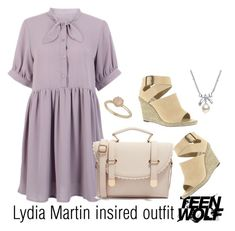 """Lydia Martin insired outfit-TW"" by tvdsarahmichele ❤ liked on Polyvore"