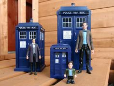 "The new 3.75"" scale, the 5"" scale and Character Building Doctor Who toys"