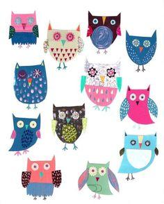 Pope Twins - PT - New Folk Owl Art