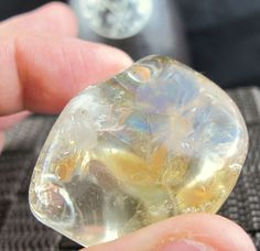 Citrine Premium Natural Tumbled Stone (16 Grams) Crystal Healing & Collection