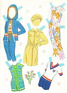 Recortables. Paper dolls 1 - Yakira Chandrani - Picasa Webalbum