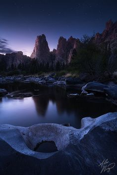 A unique take on the monoliths at Smith Rock, Oregon.