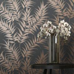 Copper and White Wallpaper