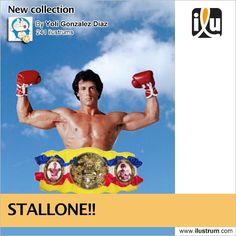 #Stallone  Por Yoli Gonzalez