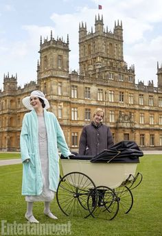 Lady Mary and Baby with Anna