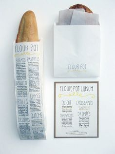 Bread + nice typography= bread that is even more delicious