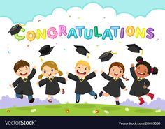 Illustration about Happy graduation day. Vector illustration of students celebrating graduation. Illustration of education, diverse, ceremony - 111701638 Graduation Day Quotes, Happy Graduation Day, Kindergarten Graduation, High School Graduation, Graduation Pictures, Graduate School, Graduation Ideas, Graduation Balloons, Congratulations Graduate