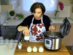 This electric pressure cooker makes yogurt, too!