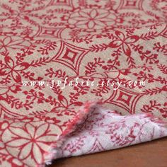 quilting fabric red bohemian hippie - Google Search