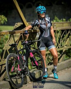 3b7a708d8 iron bridge for and iron woman... reality pic Bicycle Women