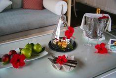 Welcome amenities at Petite Anse, Four Seasons Resort Seychelles