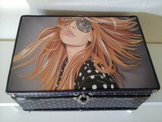 caixa organizadora girl