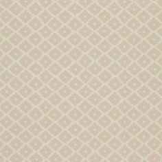 "Schumacher Ziggurat Flocked 13.5' x 27"" Wallpaper Roll Color: Alabaster"