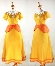 Princess Daisy Costume from Super Mario                              …
