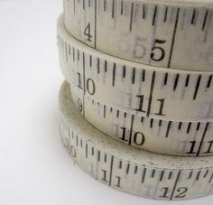 printed ruler tape - p i ' l o 25 YARDS, 12.00