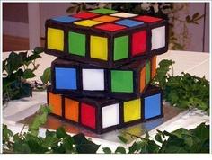 El cubo de Kubrick en torta...