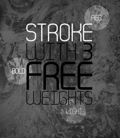 Freefont Stroke von The Kinetic