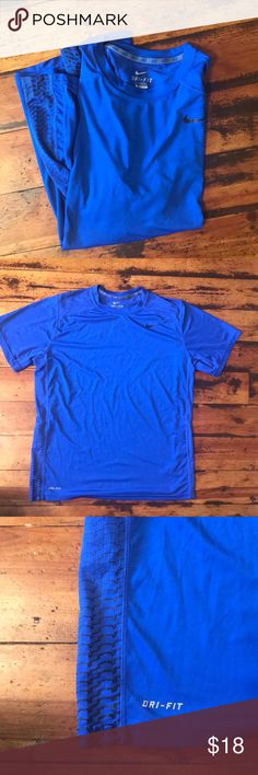 bf853eab529 Nike Dry Fit Blue Performance Shirt XL Excellent condition. No flaws. Size  extra large. 100% polyester. Nike Shirts Tees - Short Sleeve
