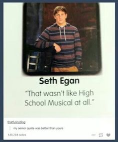 High School Senior Quotes Amusing That's Gonna Be My Senior Quote  Hahaha Lol⌒▽⌒  Pinterest