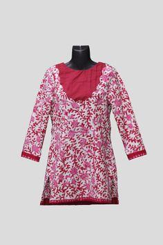 Lasem Batik Tunic by mylalitastyle on Etsy, $85.00