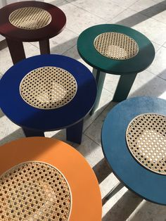 A Self-Taught London Designer On How to Make Furniture That's Poetic But Not Pretentious – Sight Unseen – Furniture Ideen Cane Furniture, Rattan Furniture, Handmade Furniture, Furniture Making, Furniture Decor, Plywood Furniture, How To Make Furniture, Modern Furniture Design, Bedroom Furniture