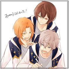Ritsu, Leo, & Izumi | Ensemble Stars!