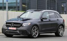 Mercedes Testing Mostly Uncovered AMG GLC 63