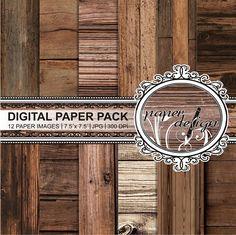 old wood digital paper Vintage Wood Digital Paper