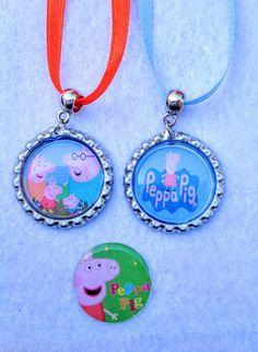 Un favorito personal de mi tienda Etsy https://www.etsy.com/es/listing/463263731/10-pcs-peppa-pig-favor-collar-partido