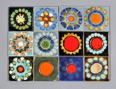 Amazing collection of British tiles at the link. || Clive Simmonds