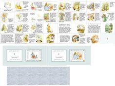 Beatrix Potter book, tutorial and printie Dollhouse Tutorials, Diy Dollhouse, Dollhouse Miniatures, Doll House Crafts, Doll Crafts, Paper Crafts, Miniature Crafts, Miniature Dolls, Beatrix Potter Books