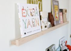 Sarah Sherman Samuel:the perfect white & DIY nursery shelves | Sarah Sherman Samuel