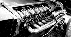 48 Litres of BMW power.  Formerly used in WWII aircraft, now on wooden wheels and called BRUTUS