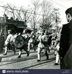 PEKING Chinese Communist troops enter Peking (now Beijing) in 1949