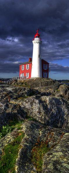 Fisgard Lighthouse, Victoria, BC, Canada