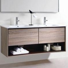 CORFU Wall Hung Vanity 150cm | Mmook Range MDF Moisture resistant