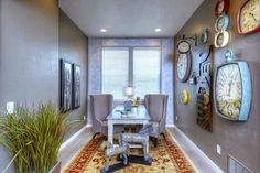 Tick Tock. Everyone loves decorating with #clocks! From Houzz to CreekStone Homes (our model home in Wolf Ranch) this timely trend will have you heading to your local design store. http://creekstone-homes.com/colorado-springs-new-home-neighborhoods-custom-builder-creekstone/wolf-ranch/ #ColoradoSprings   #newhomes   #homebuilder  #Colorado