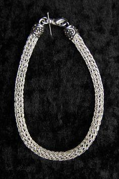 "Armband ""Viking-Knit"" von KDS Design auf DaWanda.com"